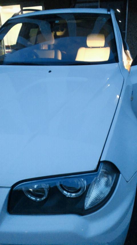 BMW X5シートクリーニング