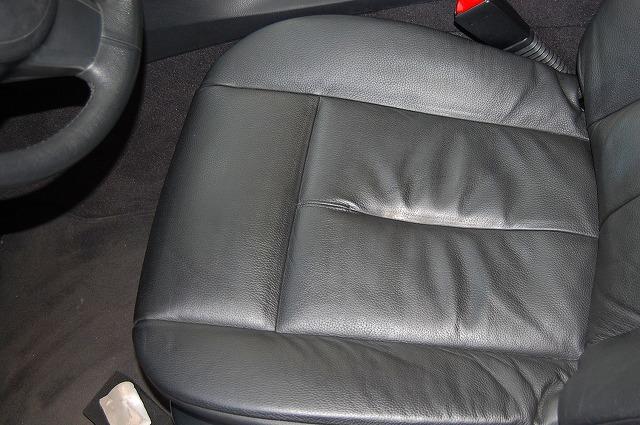 BMW650シートクリーニング後