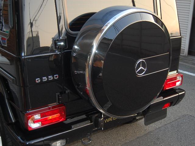 ベンツG550背面タイヤカバー