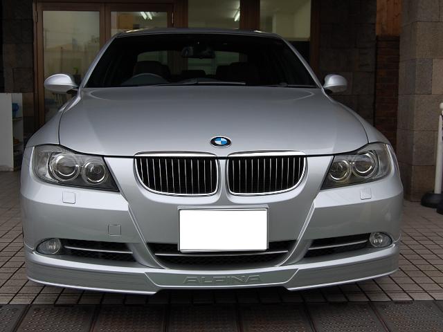 BMWアルピナB3ビターボリムジン正面写真