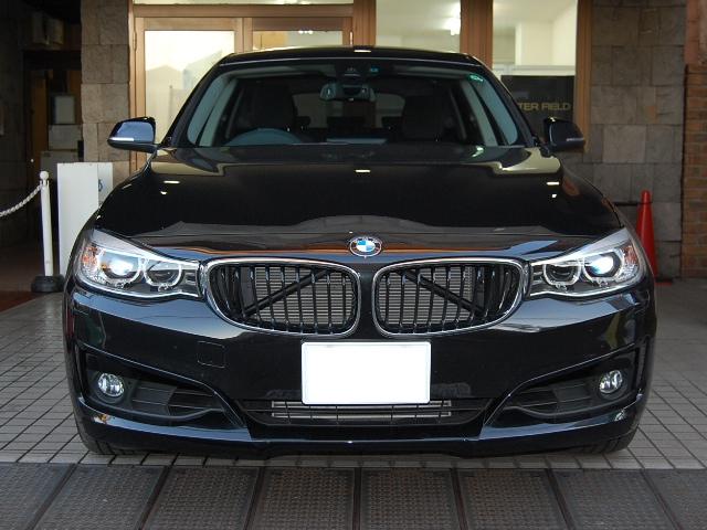 納車前BMW320グランツーリスモ