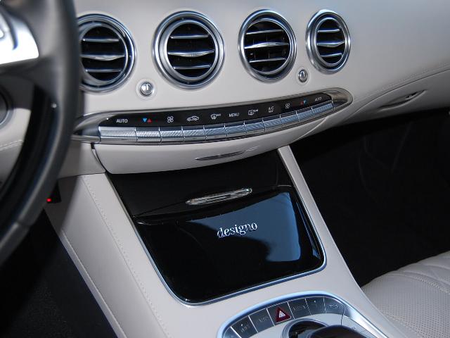 メルセデス・ベンツS550内装デジーノ