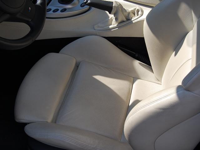 BMW M6本革の汚れ具合