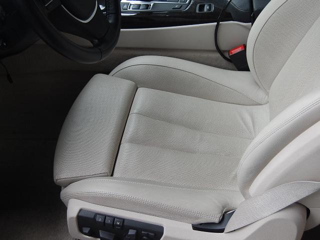 BMW650カブリオレ運転席レザーシート
