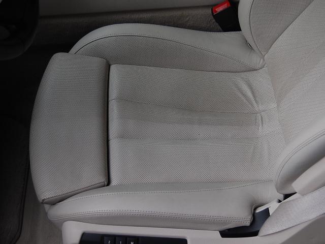 BMW650カブリオレレザー汚れ