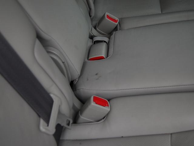 後席の汚れ