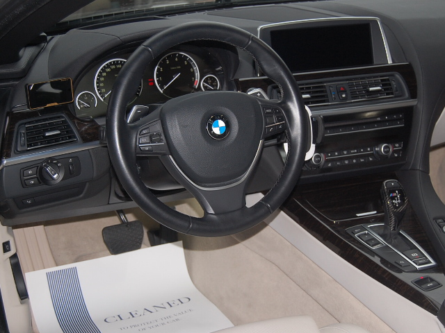 BMW650車内クリーニング完成後