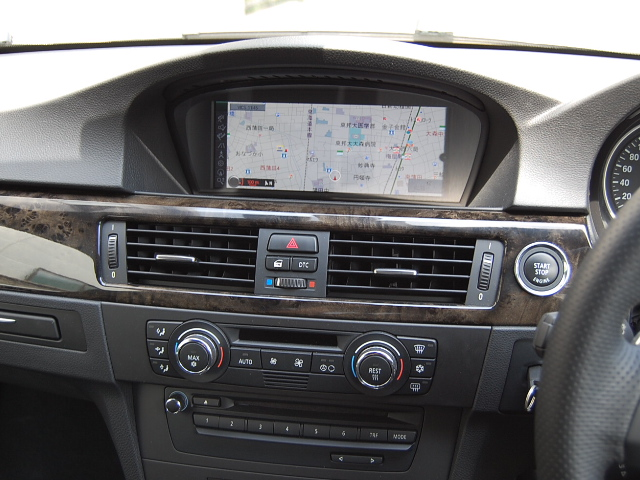 BMW335クーペ純正ナビ