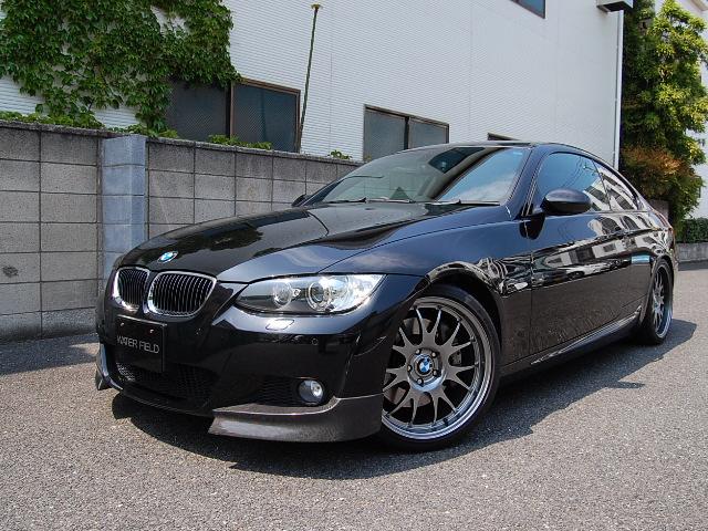 BMW335iクーペMスポーツ正面写真