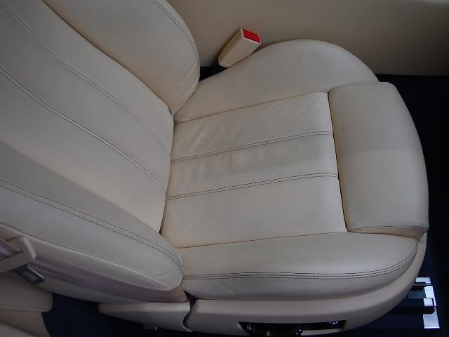 レザーシートクリーニング助手席